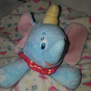 Disney Baby Dumbo elephant lovey security blanket